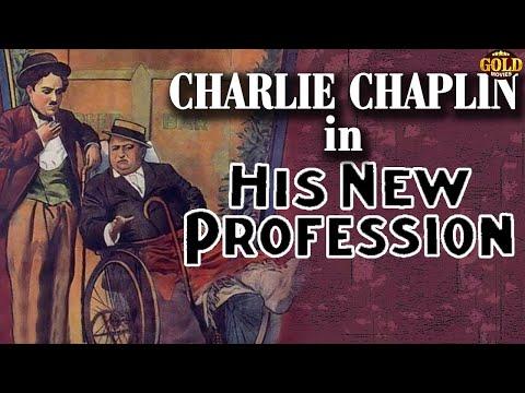 His New Profession l Charlie Chaplin l Funny Silent Comedy Film (1914)