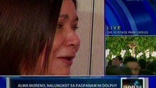 Saksi: Alma Moreno, nalungkot sa pagpanaw ni Dolphy
