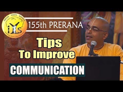 From Miscommunication & Discommunication to Communication | HG Nanda Dulal Prabhu |155th Prerana