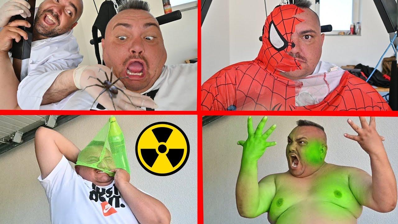 Transforming Ordinary Guy Into Superheroes