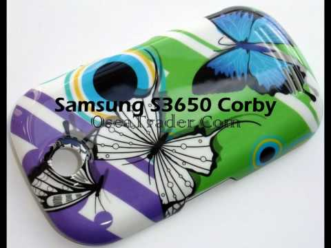 Samsung s3650 Corby Samsung B3210 Qwerty Fashion Battery Back Cover