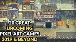 20 Great Pixel Art Games 2019 & Beyond