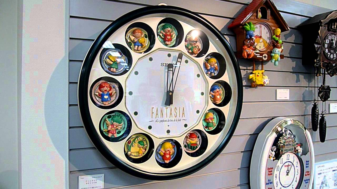 Seiko animated clock youtube amipublicfo Images