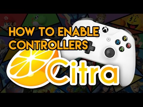 How to use Controllers in Citra 3DS Emulator