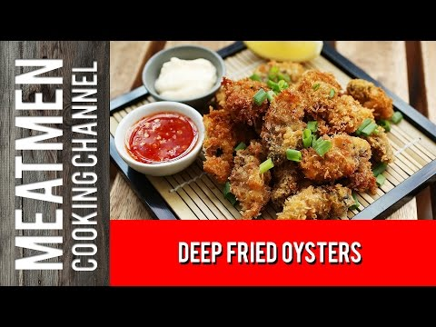 Deep Fried Oysters - 酥炸牡蛎