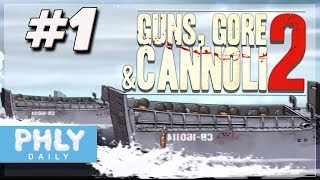 German UBOAT Assault & D-Day INVASION (Guns, Gore and Cannoli 2 Gameplay)
