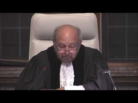 ICJ dismisses Kenya's objectionto the Somali maritime case.