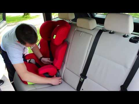 Isofix High-back Booster Seat HEYNER Maxifix Aero How To Install In A Car