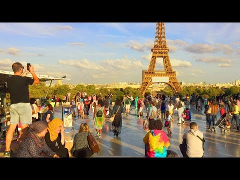 PARIS WALK | Trocadero incl. views of the Eiffel Tower | France