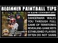 Beginner Paintball Help: In Game Tips!