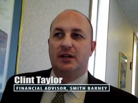 Clint Taylor, Financial Advisor For Smith Barney, Recommends Professional Speaker Mary Jane Mapes.