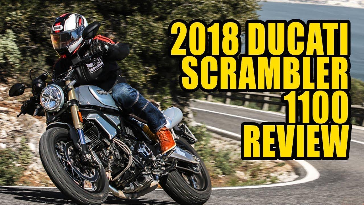 2018 Ducati Scrambler 1100 Review Youtube
