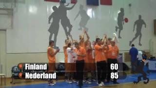 Wedstrijd tegen Finland (22 juli 2010)