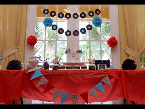 Rock-a-Bye Twin Baby Shower- TwinMonPlus1 (CreationsbyVane)