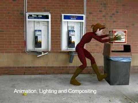 Animation Demo Reel - Mandy Clark