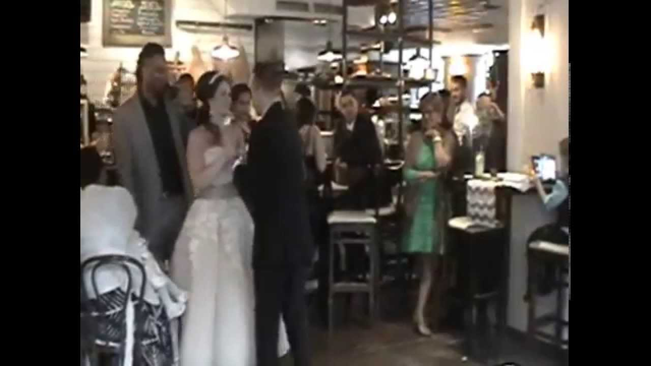 Christina Nick Colacci First Dance Fly Me To The Moon By Frank Sinatra