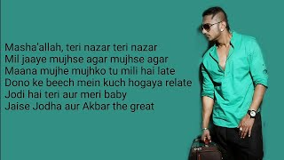 Urvashi lyrics | Shahid Kapoor | Yo Yo Honey Singh | Bhushan Kumar | Urvashi Full song lyrics