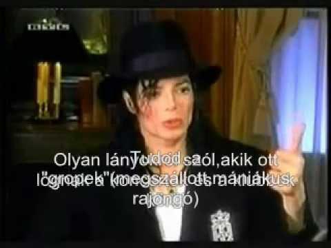 """Michael Jackson - Barbara Walters- interjú magyar felirattal (""""Nem vagyok Jacko"""") [teljes]"""