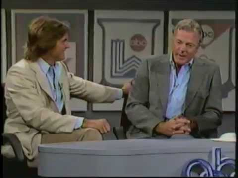 1984 Olympic Games - ABC Sports Interview Frank Gifford with Bob Mathias and Bruce Jenner