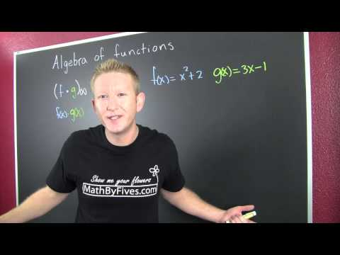The Algebra of Functions
