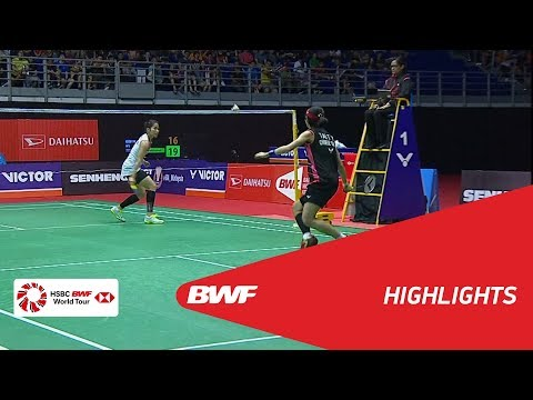Perodua Malaysia Masters 2018 | Badminton WS - F - Highlights | BWF 2018