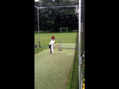 England's future opening batsman, 5 year old Charlie Dawson! A very talented young cricketer.