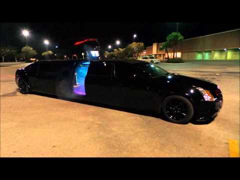 Black Knight Cadillac Limo Clean Ride Limo