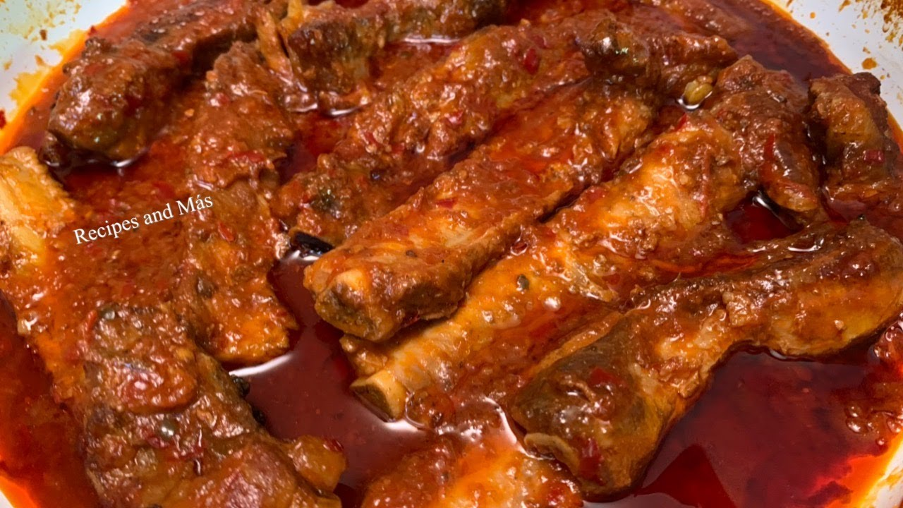 Download Ribs in Salsa Mexican Style