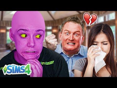 DESTRUÍ UM CASAMENTO! - The Sims 4 thumbnail