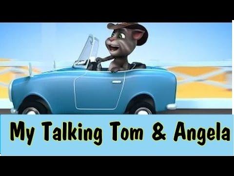 Talking Tom Driving Car