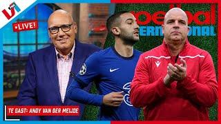 Voetbal International LIVE: Andy van der Meijde over Oranje, Frenkie en Ziyech
