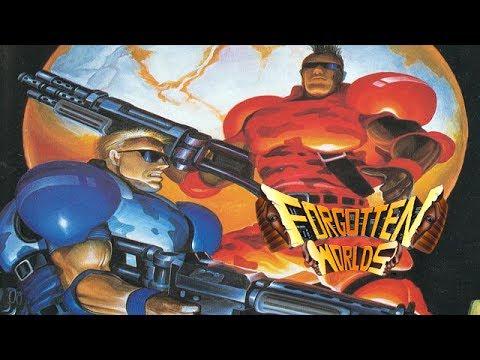 Forgotten Worlds (Arcade/Capcom/1988) [720p]