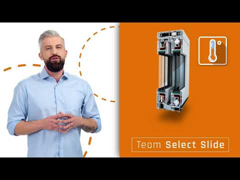 Idealne wyjście na taras z oknami przesuwnymi Team Select Slide