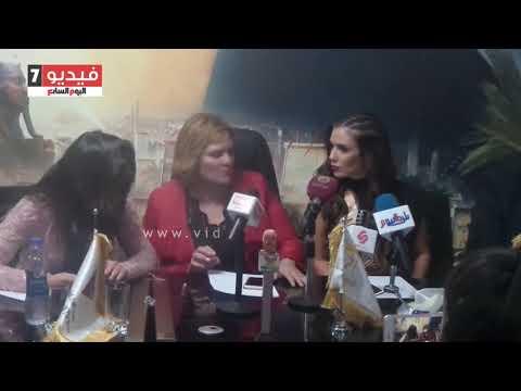 ملكة جمال العالم للسياحة: المرأة المصرية ذكية وودودة.. وفخورة بزيارة مصر  - 21:22-2017 / 11 / 17