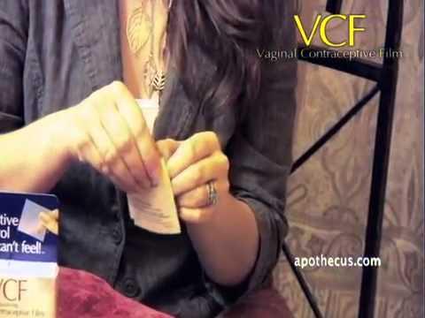 Hướng dẫn sử dụng Màng phim tránh thai VCF Vaginal Contraceptive Film