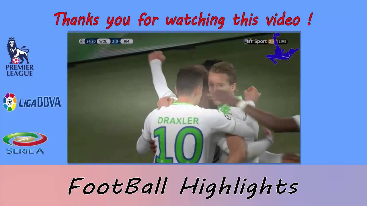 Download Wolfsburg 2 - 0 Real Madrid 2016~ Highlights & Full Match (Champions League 7 April 2016)