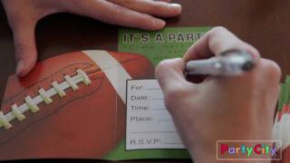 Football Theme Birthday Party Ideas from Party City