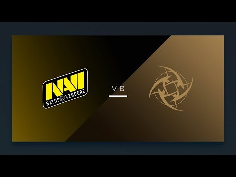 CS:GO - NaVi vs. NiP [Overpass] Map 1 - EU Day 13 - ESL Pro League Season 7
