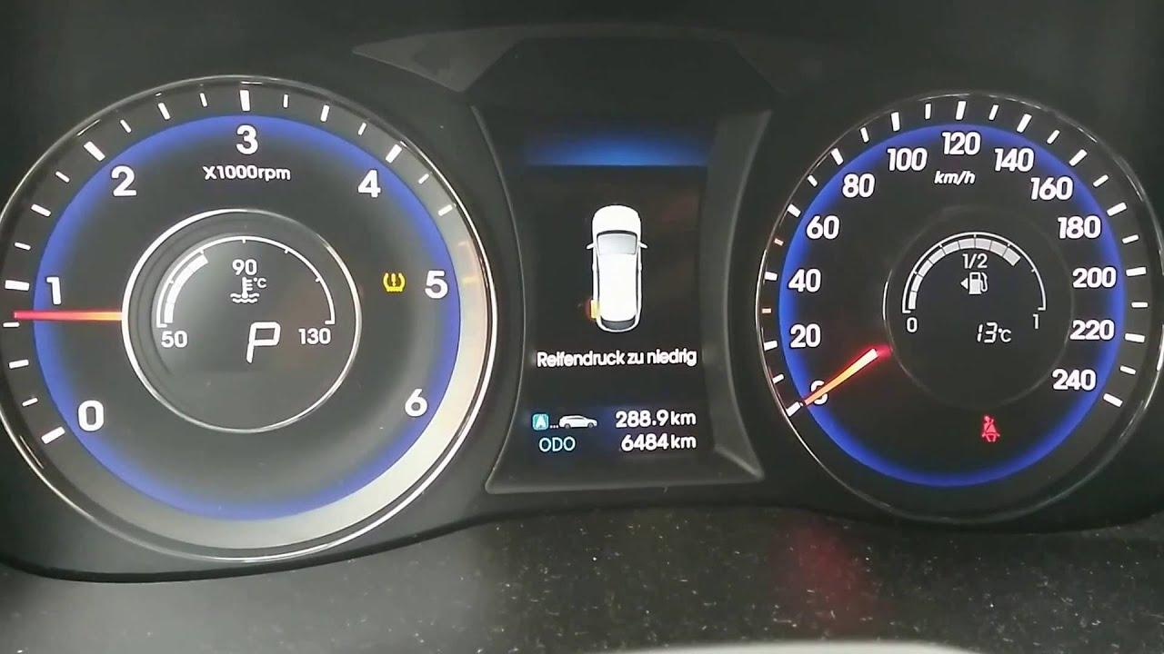 Hyundai Elantra Tire Pressure Light Reset Www Lightneasy Net
