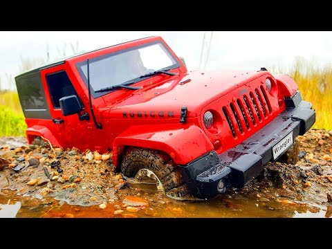 RC Car 4x4 Sand and Water Extreme OFF Road Jeep Wrangler Rubicon MST CFX - Wilimovich