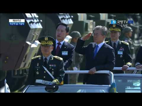 K Force TV - South Korea Armed Forces Day Parade 2017 - Full Army Assets Segment