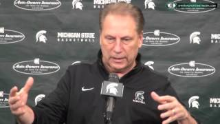 Tom Izzo Press Conference: 1/18/16 Adjusting to the rules, losing, and Denzel Valentine