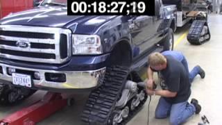 Truck Track Installation Timelapse
