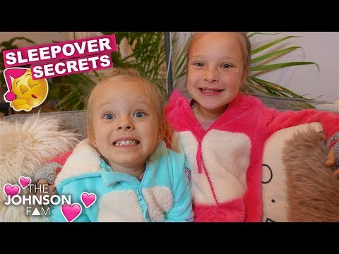 Sisters First Sleepover Secrets and Stories!