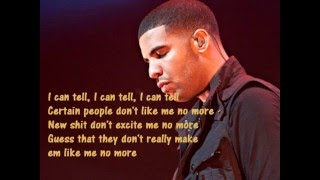 Repeat youtube video Drake- Trust Issues (lyrics)