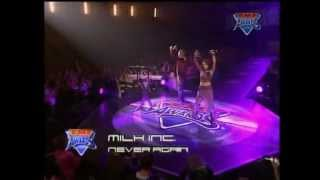 Milk inc. - Never again (live @ tmf awards belgium 2001)