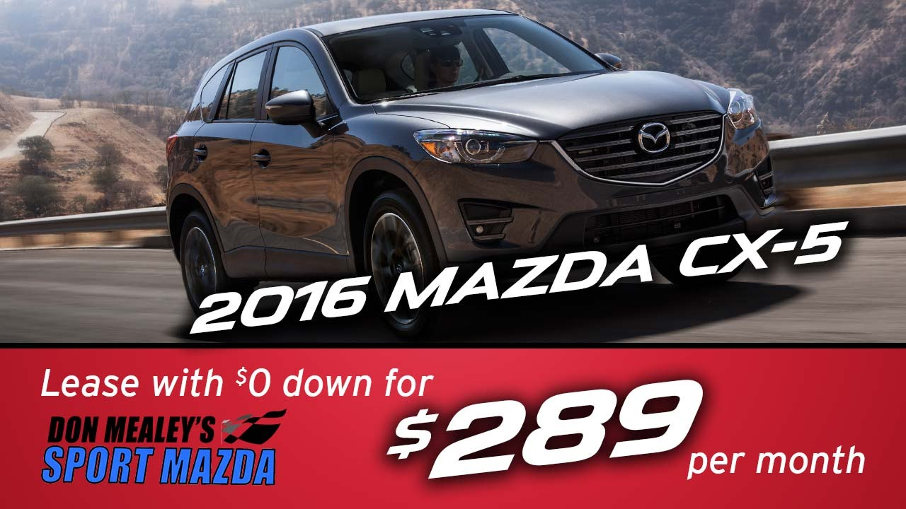 new 2016 mazda cx 5 leasing and finance specials at sport. Black Bedroom Furniture Sets. Home Design Ideas
