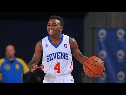 Aquille Carr NBA D-League Highlights w/ Delaware 87ers