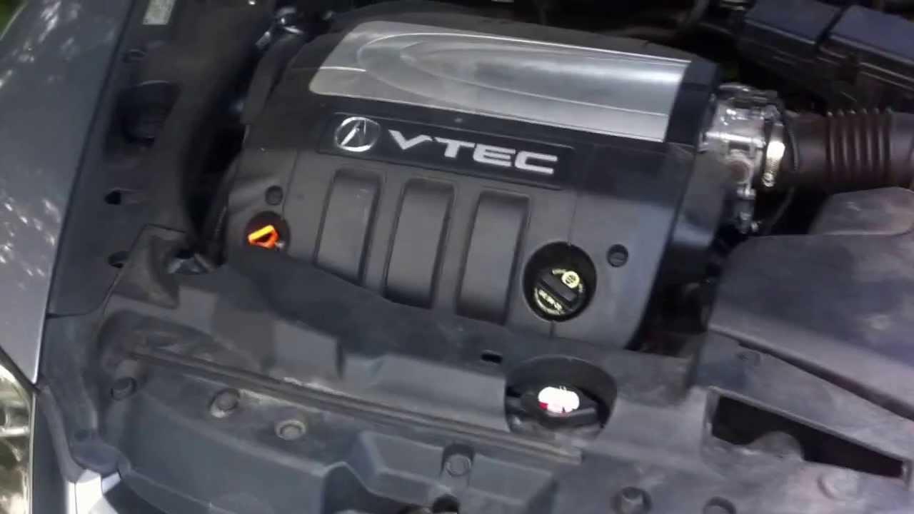 Whining Noise From Acura RL Alternator At Idel Speed YouTube - 2005 acura rl engine