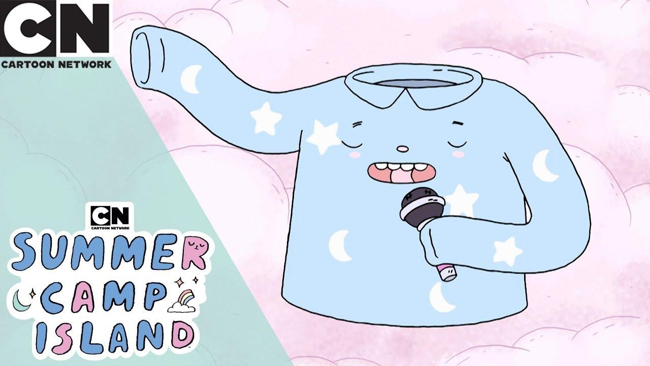Summer Camp Island Pajamas The Radio Host Cartoon Network Uk Youtube